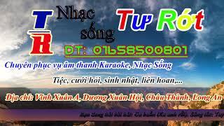 [Karaoke] Ga Buồn (Xa Anh Rồi) - Tone Nam - Nhạc Sống Tư Rớt