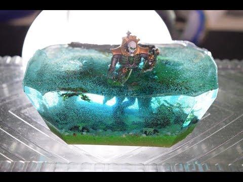 How to make resin river - resin Art