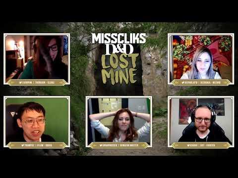Misscliks D&D : Lost Mine Chapter 1 Episode 1 Part 1