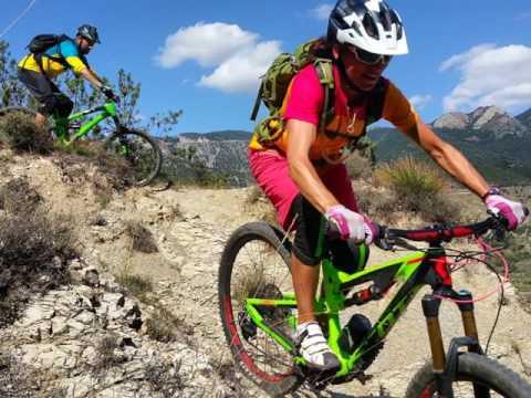 Altitude Adventure holidays. Mountain Biking Pyrenees, adventure trails