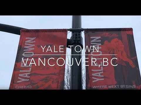 Yaletown, Vancouver, BC Canada.