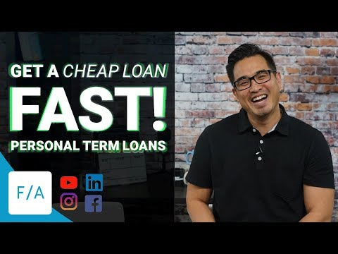 How To Get A Loan Fast, Cheap Easy Money with Personal Term Loans - #FINANCEAGENTS LIVE! 040
