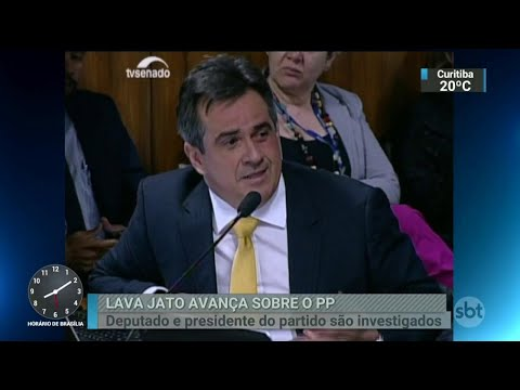 PF cumpre mandados de busca nos gabinetes de parlamentares do PP | SBT Brasil (24/04/18)