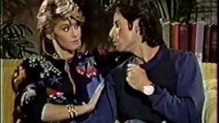Olivia Newton-John and John Travolta on Dick Cavett Behind The Scenes 1983 Part 3