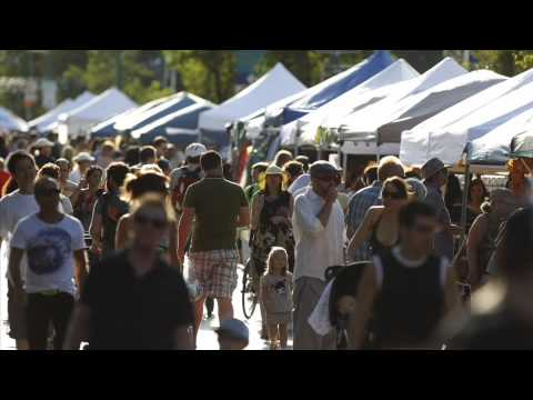 Many things to do at ManyFest and the weather is great