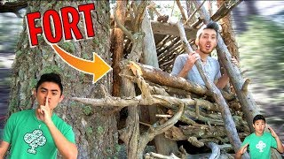 Forest Fort UPDATE! * Ireland Boys Fort Review *