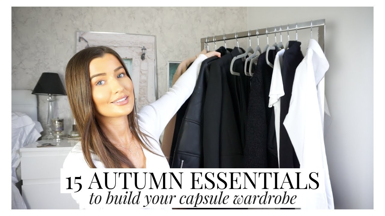 [VIDEO] - 15 AUTUMN WARDROBE ESSENTIALS TO BUILD YOUR CAPSULE WARDROBE + OUTFIT IDEAS | AD | aliceoliviac 8