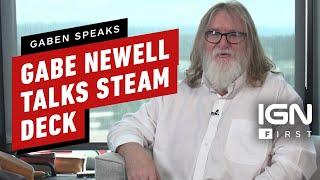 Gabe Newell Talks Steam Deck's Origin, Goals, and Future