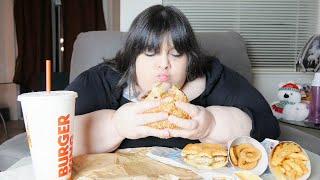 Burger King Mukbang Eating Show 2020