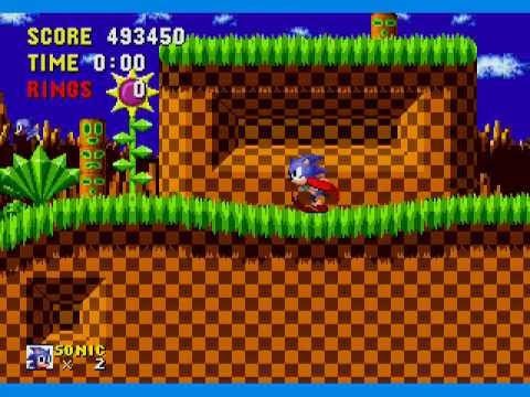 Sonic The Hedgehog Speed Run 13:03 any% SS (Non-TAS)