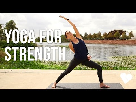 Yoga For Strength - 40 Minute Vinyasa Sequence