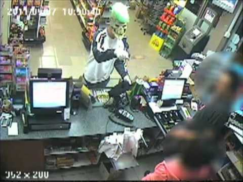 CCTV - Armed robbery, Boondall