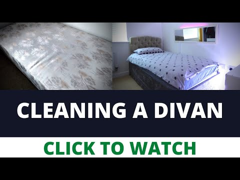 How To Clean A Divan Bed & Headboard