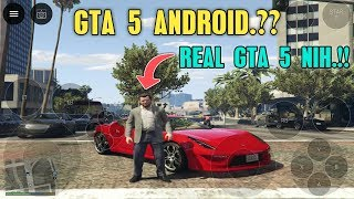 AKHIRNYA.!! BISA MAIN GTA 5 DI ANDROID - REAL GTA 5 (TANPA PC)