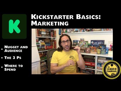 Kickstarter Basics: Marketing