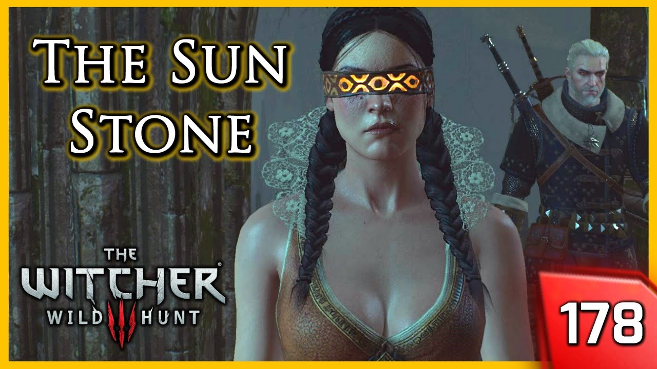 Witcher 3 Philippa And Geralt Find The Sunstone 178 Youtube
