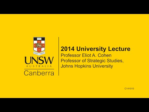 The UNSW Canberra University Lecture 2014