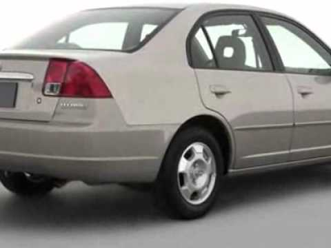 2003 Honda Civic Continuously Variable Transmission Cvt Hybrid Sedan San Mateo Ca