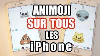 Avoir Animoji sur TOUS les iPhone sous iOS 11 !