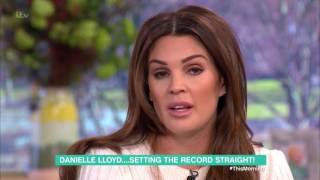 Danielle Lloyd Is Not a Gold Digger | This Morning