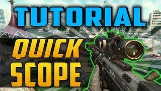 Tutorial Quickscope - Black Ops 2