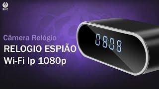 Câmera Espiã Haiz Relogio Wifi Ip 1080p Monitoramento - Como Instalar e Configurar ! #Haiz