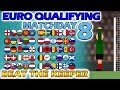 Beat The Keeper - UEFA Euro 2020 Qualifying Matchday 8