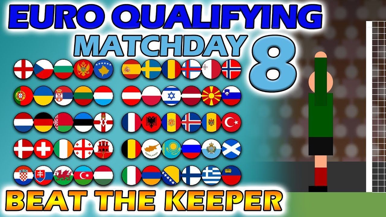 Download Beat The Keeper - UEFA Euro 2020 Qualifying Matchday 8