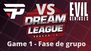paiN Gaming x Evil Geniuses | DreamLeague Season 13 Major (Fase de grupo, game 1)