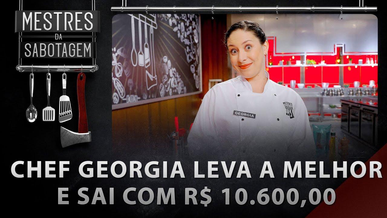 Chef Georgia se dá bem e leva pra casa mais de R$ 10 mil | Mestres da Sabotagem (08/05/21)