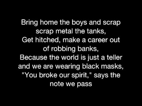 The Phoenix- Fall Out Boy (lyrics)