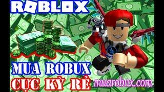 Roblox | How To Buy Low Price Robux | Vamy Tran | Muarobux.com