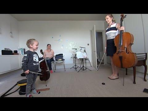 Cello Lesson Suzuki Book 1