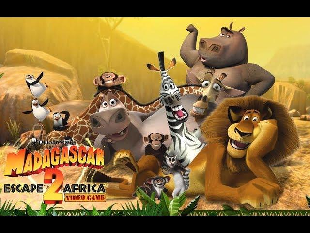 Madagascar Escape 2 Africa Game Mix