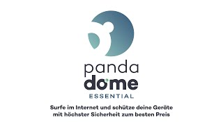 Panda Dome Essential - Schützen sie sich umfassend vor onlinebedrohungen