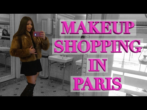 Paris Vlog Luxury Makeup Shopping - Chanel, Dior, Guerlain, Laduree, Sephora
