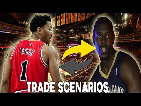 NBA 2K16 Trade Scenarios | Chicago Bulls |  Trading D. Rose