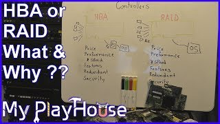 HBA vs. RAID Contŗoller card - 833