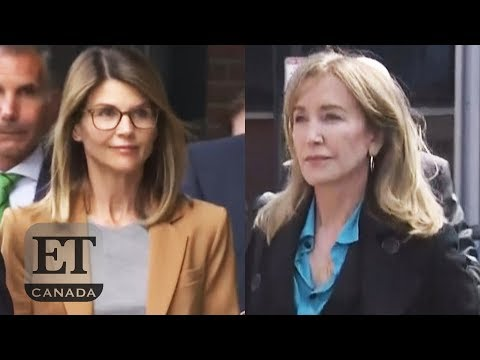Felicity Huffman Pleads Guilty Lori Loughlin Does Not