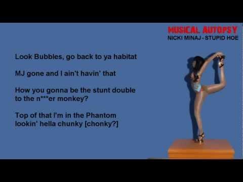 Musical Autopsy: Nicki Minaj - Stupid Hoe