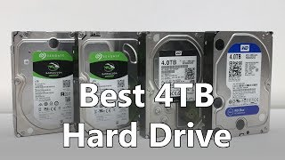 Best hard drive 2017 - 4TB drives compared