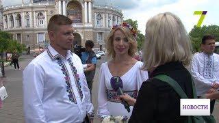 «Киборги» отмечают свадьбу: В Одессу приехали бойцы - участники обороны Донецкого аэропорта