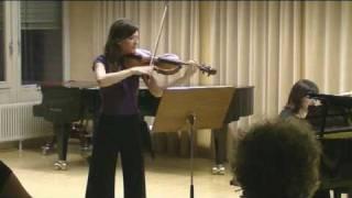 J.Brahms: Sonata op.120.1 (Andante, un poco Adagio) - Anya Muminovich, viola
