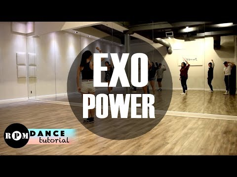 "EXO ""Power"" Dance Tutorial (Chorus, Ending)"