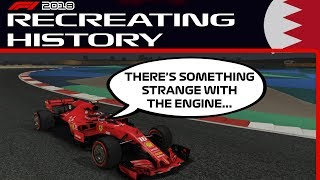 THE CHARLES LECLERC BAHRAIN GP CHALLENGE | F1 2018 Game: Recreating History #1