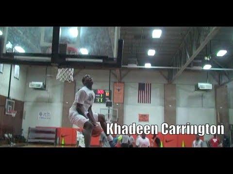 Khadeen Carrington '14 Mixtape @ Big Strick Classic