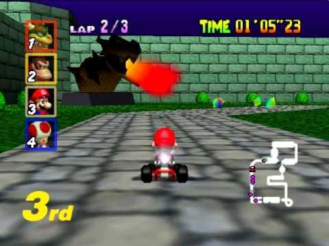 Bowser's Castle 12 Hours - Mario Kart 64
