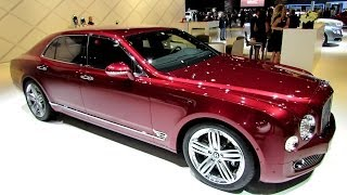 2014 Bentley Mulsanne – Exterior and Interior Walkaround – 2013 LA Auto Show
