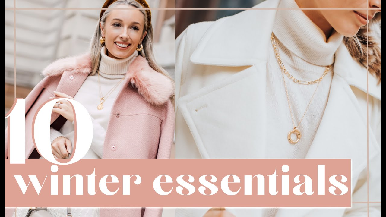 [VIDEO] - TOP 10 WINTER WARDROBE ESSENTIALS // Fashion Mumblr 4