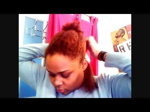 Organix Keratin Treatment on Natural Hair  YouTube